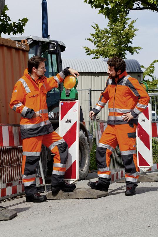 boco Warnschutzkleidung wird im Mietservice regelmäßig überprüft