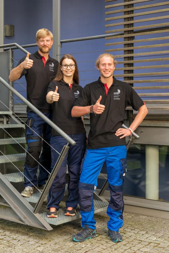 Teilnehmer Benno Uhlmann, Diana Reuter und Andreas Enzensberger