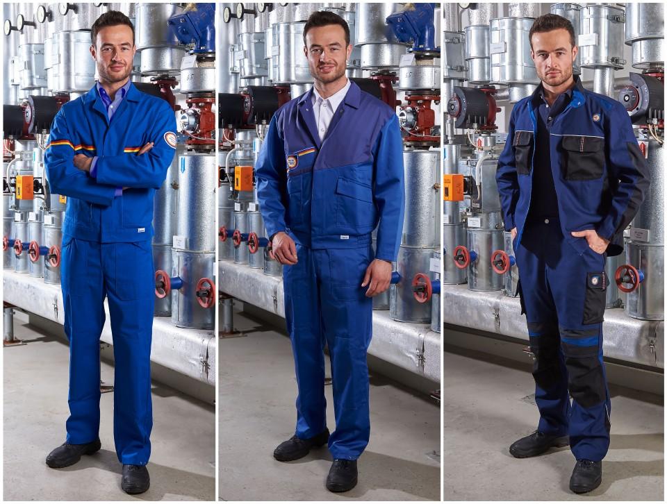 boco SHK Verbandskleidung, 1977, 1998 und 2017