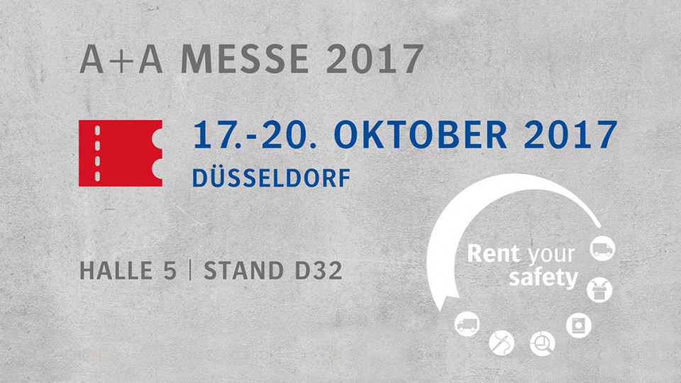 CWS-boco auf der Messe A+A in Düsseldorf, 17.-20. Oktober 2017