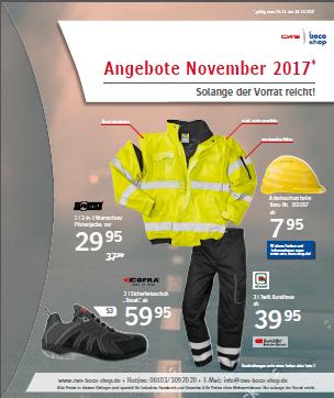 CWS-boco Shop Angebote im November