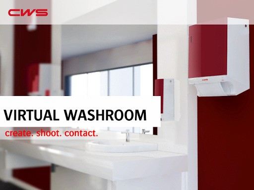Cws washroom designer ihr augmented reality for Quereinsteiger raumgestaltung
