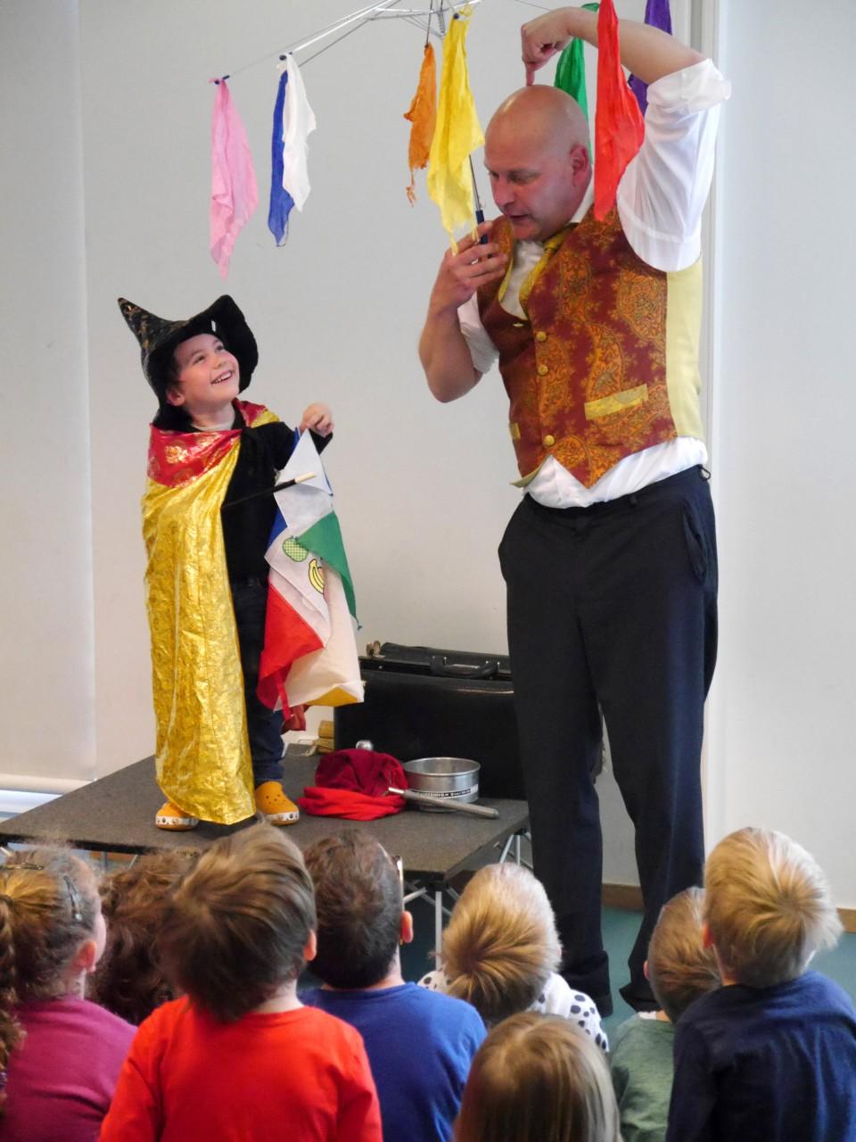 CWS Zaubershow in der Kita Kaleidoskop Neu-Isenburg