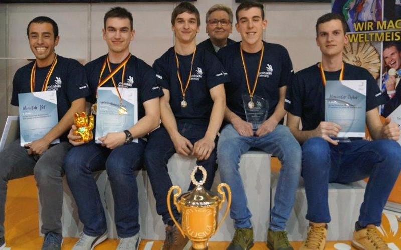 Gewinner der WorldSkills auf der didacta 2017