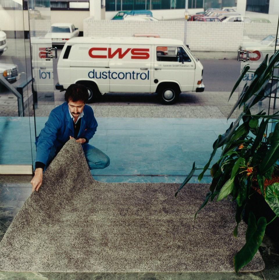 CWS Mattenservice in den 70ern