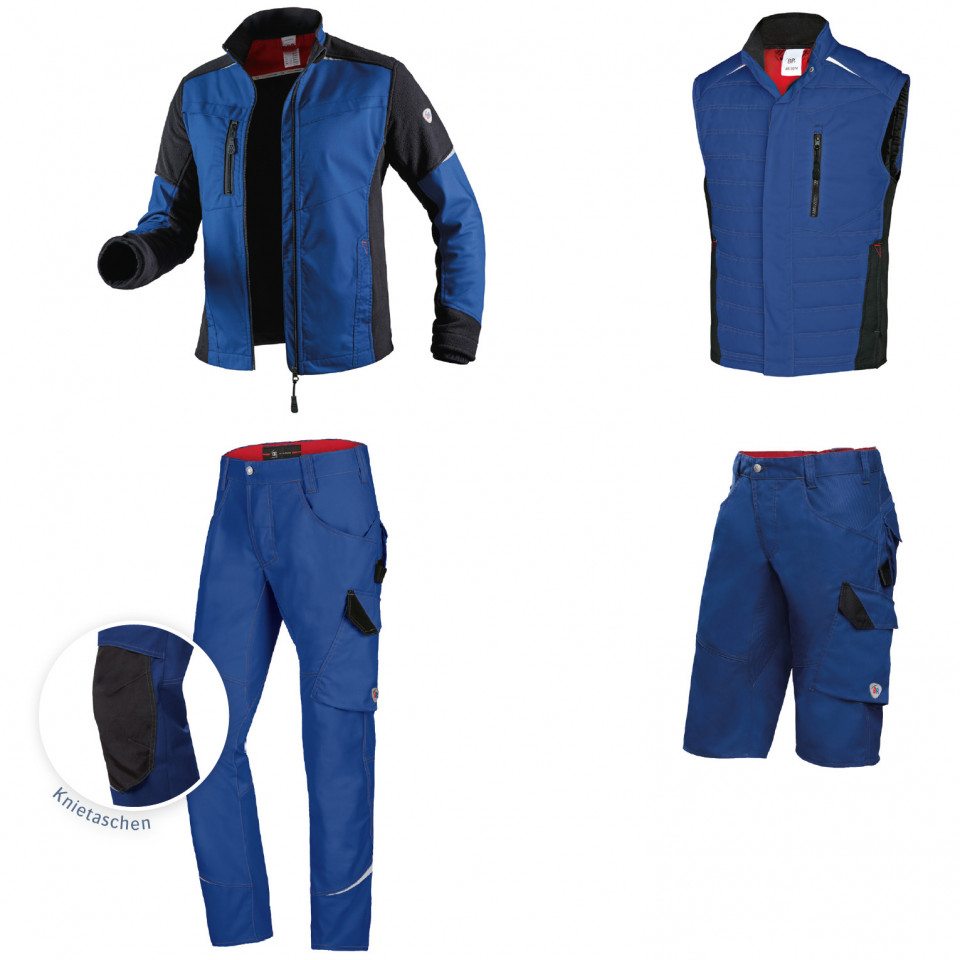 Marvik Arbeitskleidung Jacke, Weste, Hose, Bermuda