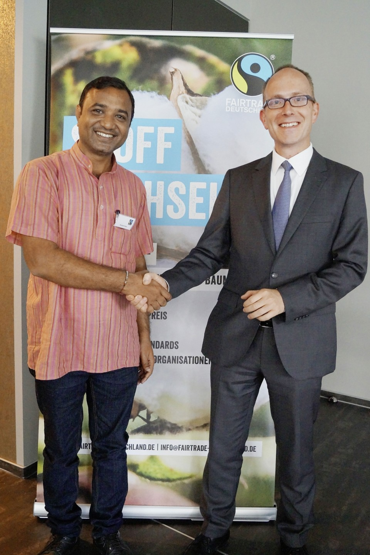 Shailesh Patel und CEO Max Teichner