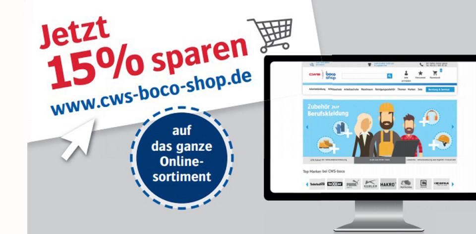 CWS-boco Shop Angebote Juni 2018