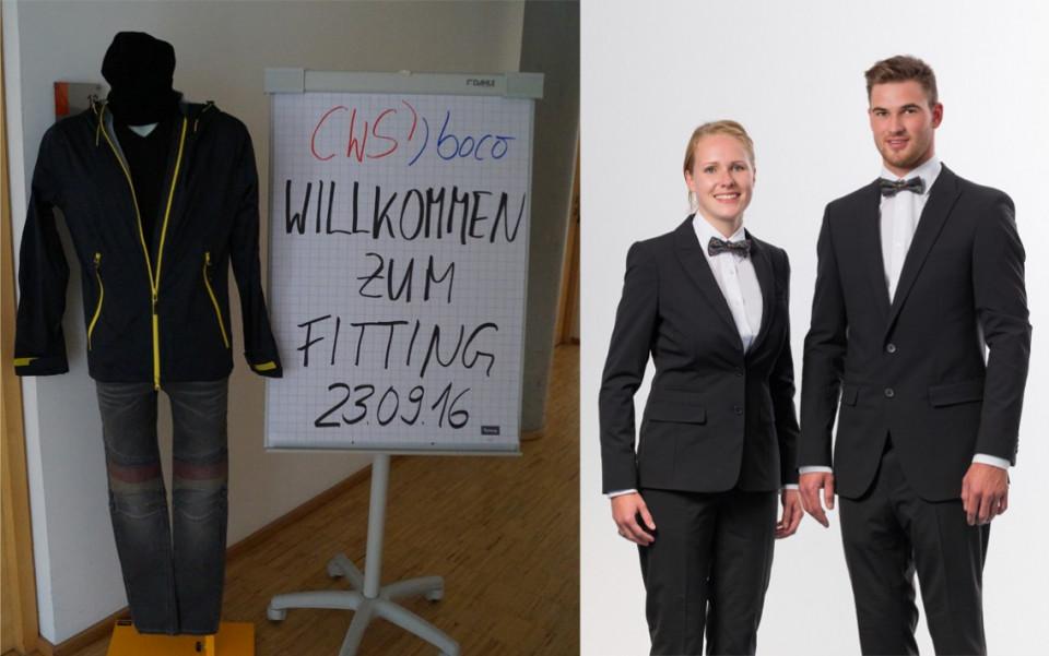 Teilnehmer in boco Kleidung