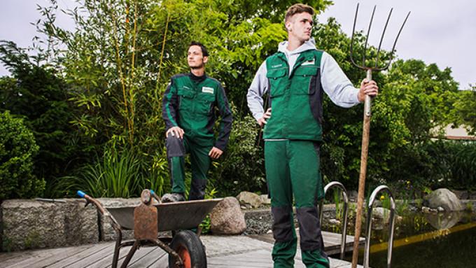 GaLa-Bau-Arbeiter in boco Berufskleidung