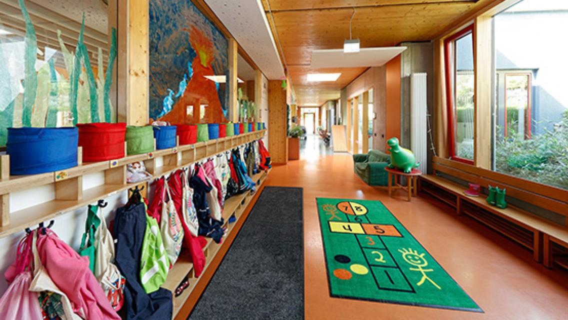 CWS Schmutzfangmatten in Kindertagesstätte